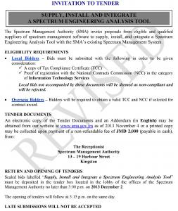 Invitation to Tender - Supply, Install and Integrate Annalysis Tool